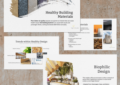 Slide Deck Design and Content for Light House