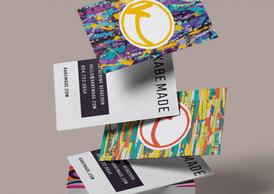 Business Card Design for kabemade